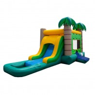 EZ Tropical Bouncer Slide Combo Wet or Dry