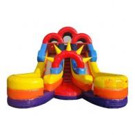 Junior Double Splash Slide