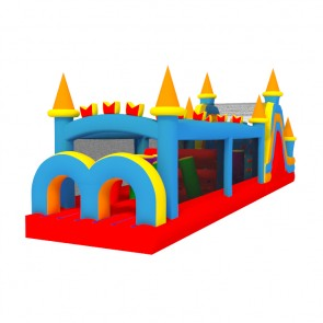 50 Inflatable Castle Obstacle Course