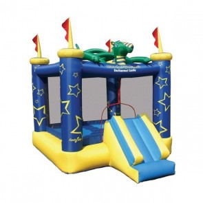 Draco The Magic Dragon Bounce House with Slide