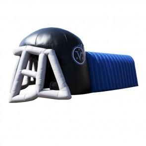 Football Helmet Tunnel