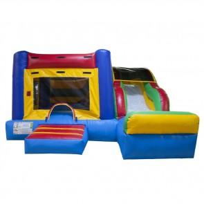 Fun Indoor Bouncer Slide Combo