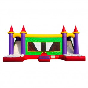 Giant Castle Bouncer Slide Combo