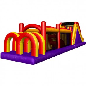 IPC 60 Inflatable Castle Obstacle Course