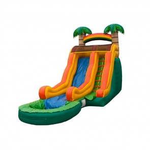 Jr. Tropical Wave Inflatable Water Slide