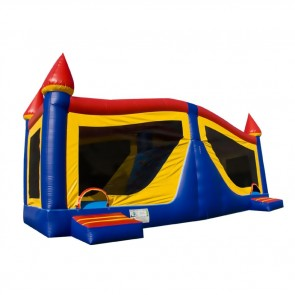 Large Castle Bouncer Slide Combo