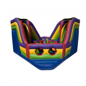 Obstacle Island Inflatable Obstacle Course