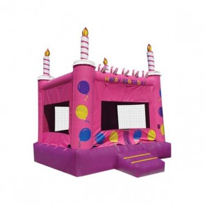Pink Cake Bounce House