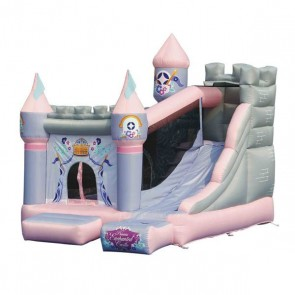 Princess Enchanted Castle Bounce House and Slide