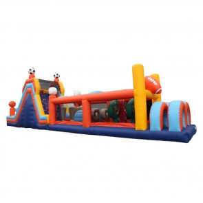 60 Inflatable Sports Obstacle Course