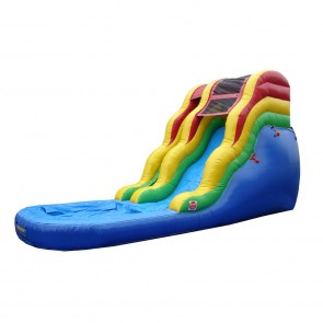 16' Primary Colors Water Slide
