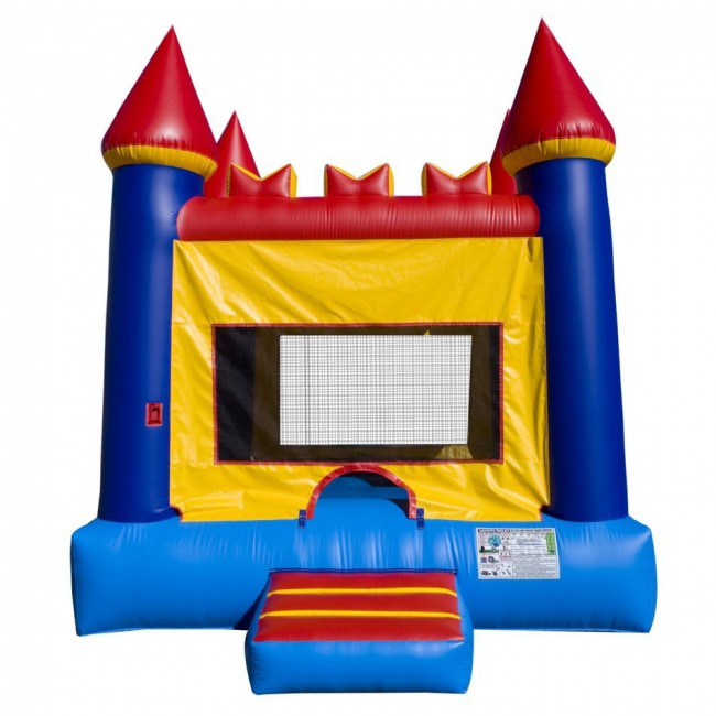 Build Your Own House Packages >> Castle Bounce House