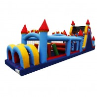 60 Inflatable Castle Obstacle Course