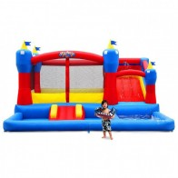 Misty Kingdom Bouncer and Ball Pit