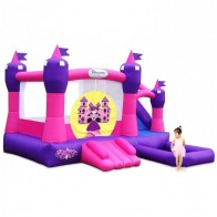 Princess Palace Inflatable Combo With Slide