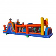 50 Inflatable Sports Obstacle Course