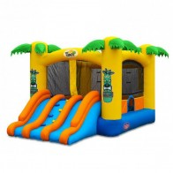 Tiki Island Commercial Bouncer Slide Combo