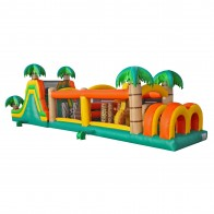 50 Inflatable Tropical Obstacle Course