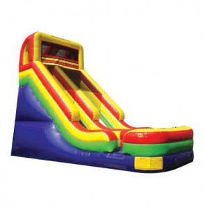 21 Inflatable Dry Slide