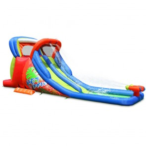 Hot Summer Double Water Slide
