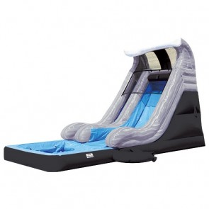Tidal Wave Slide with Detachable Pool - Gray Marble