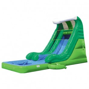 Tidal Wave Slide with Detachable Pool - Green Marble