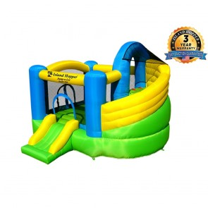 Double Slide Inflatable Bounce House