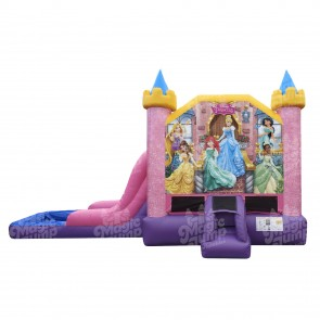 EZ Disney Princess Bouncer Slide Combo Wet or Dry