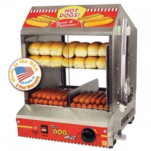 The Dog Hut Hot Dog Steamer