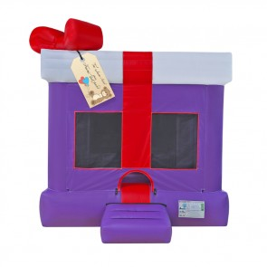 Purple Gift Box Bounce House