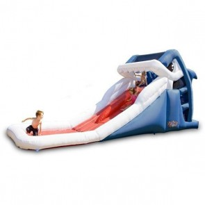 Great White Wild Inflatable Slide