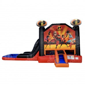EZ Incredibles 2 Bouncer Slide Combo Wet or Dry