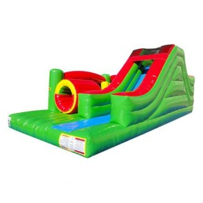 The Challenge - Left Obstacle Course - Lime Green