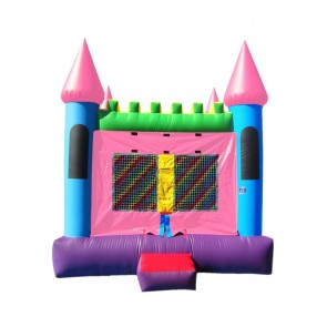 Pink Castle 2 Bounce House