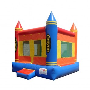 Crayon Bounce House
