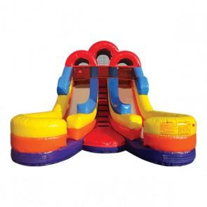 Junior Double Splash Slide 2