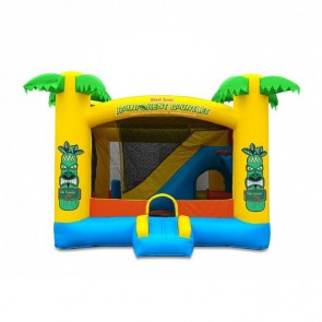 Rainforest Gauntlet Enclosed Obstacle Bouncer