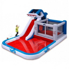 Shark Park 10-in-1 Inflatable Play Park