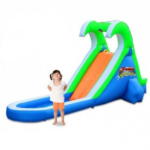 Tropical Splash Compact Backyard Water Slide