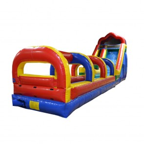 18' Water Slide with Slip and Slide