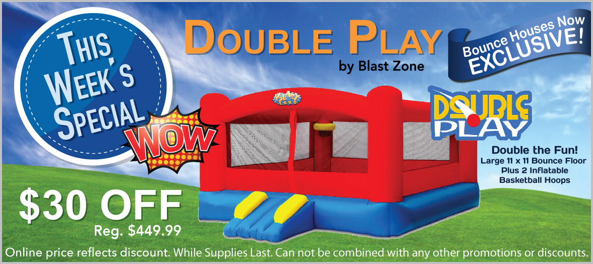 Double Play Moonwalk Double Slide Combo